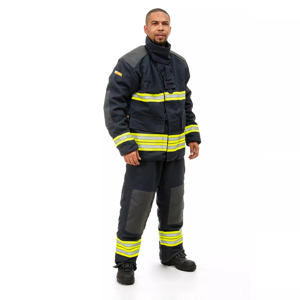 AIR-LITE Fire-Fighting Bunker Jacket and Trousers - Side View