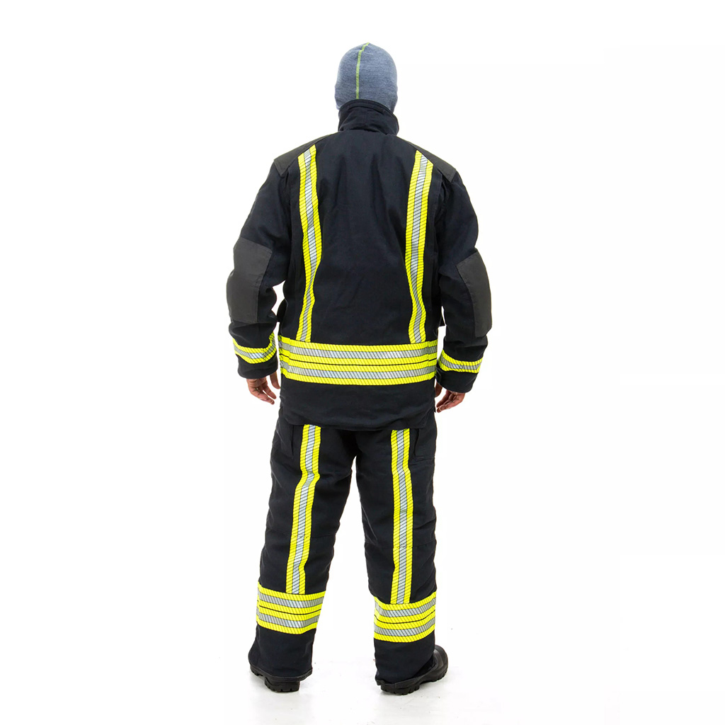 AIR-LITE Fire-Fighting Bunker Jacket and Trousers - back view