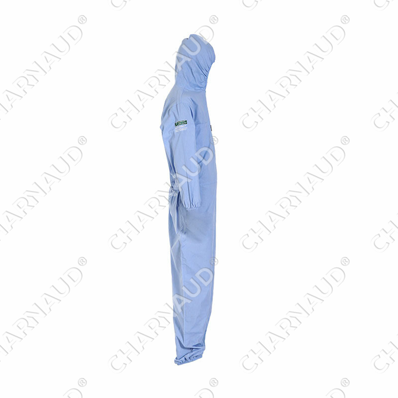 MEDI-SAFE® Coverall Side View